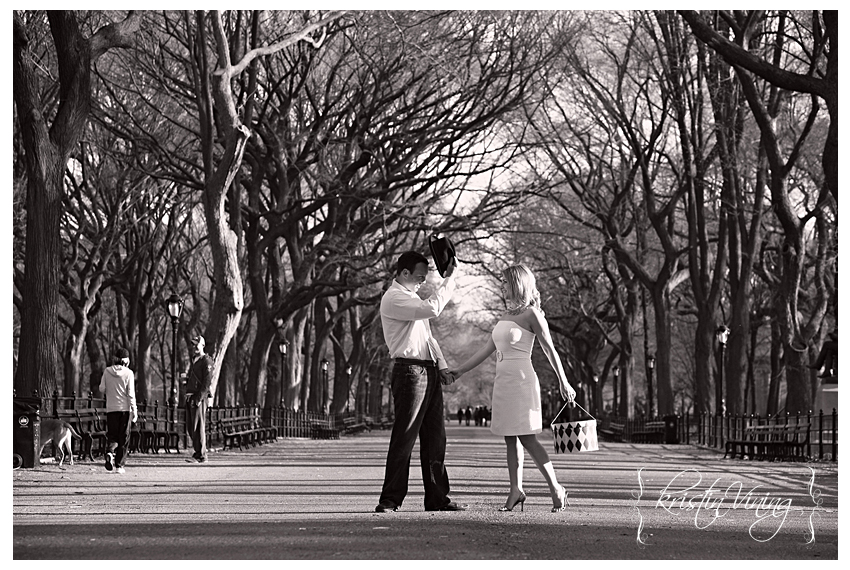 New York City - Central Park Engagement Session - Getter 7