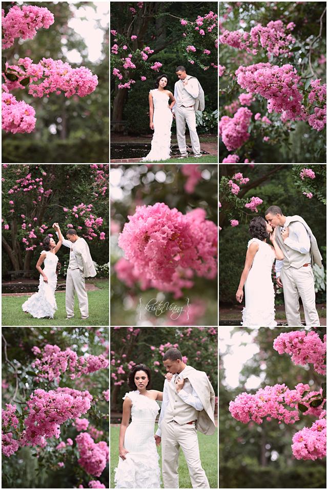 Ayesha stephen a garden romance charlotte nc wedding wow junglespirit Images