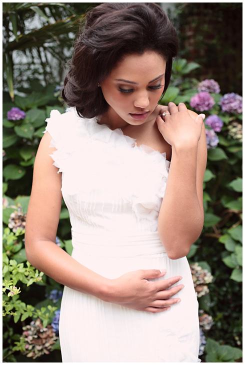 Ayesha stephen a garden romance charlotte nc wedding for Steph curry wedding ring