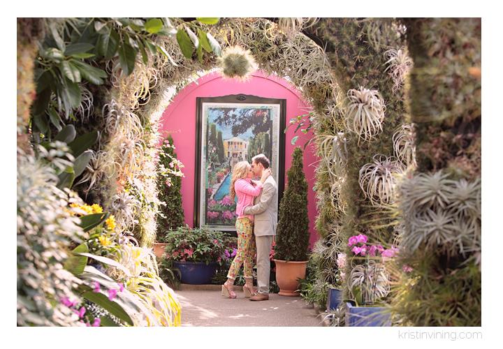 Christine + Isaac | Daniel Stowe Botanical Garden Engagement Session »  Charlotte NC Wedding Photographer