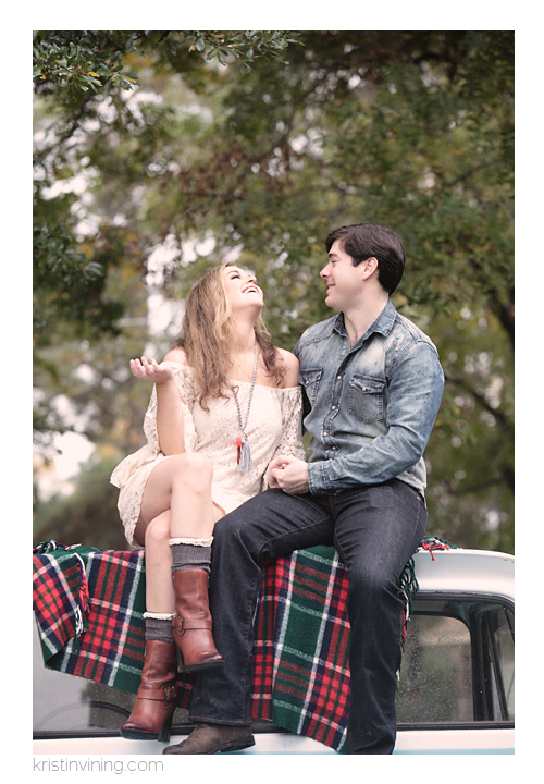 Country Chic Engagement_Kristin Vining Photography_00004